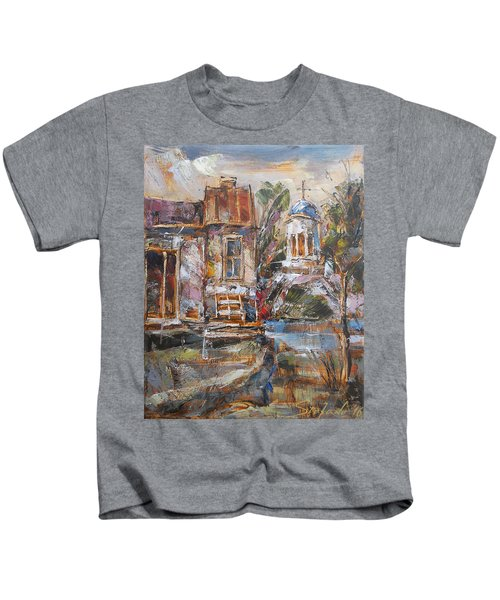A Silent Afternoon Kids T-Shirt