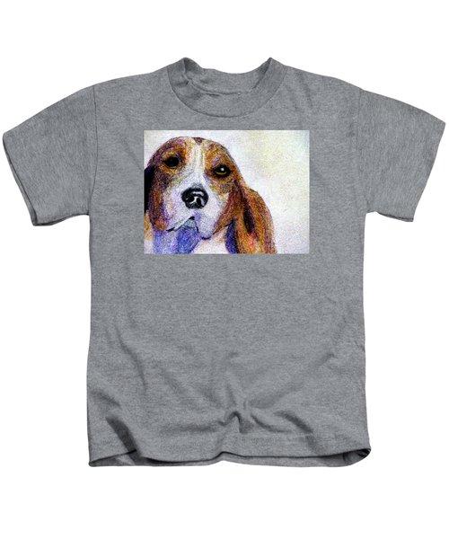 A Soulful Hound Kids T-Shirt