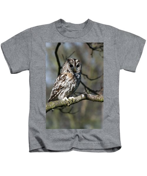 A Tawny Owl  Kids T-Shirt