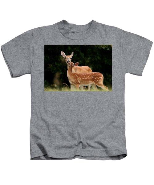 A Tender Moment Kids T-Shirt