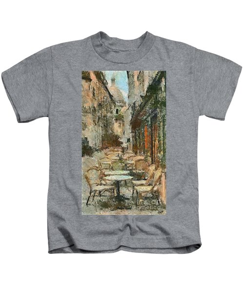 A View On The Sacre Coeur Kids T-Shirt