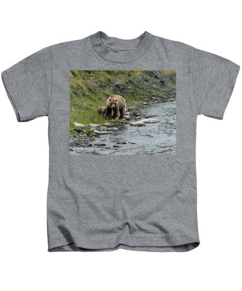 A Walk Along The Creek Kids T-Shirt