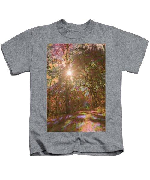 A Walk Through The Rainbow Forest Kids T-Shirt