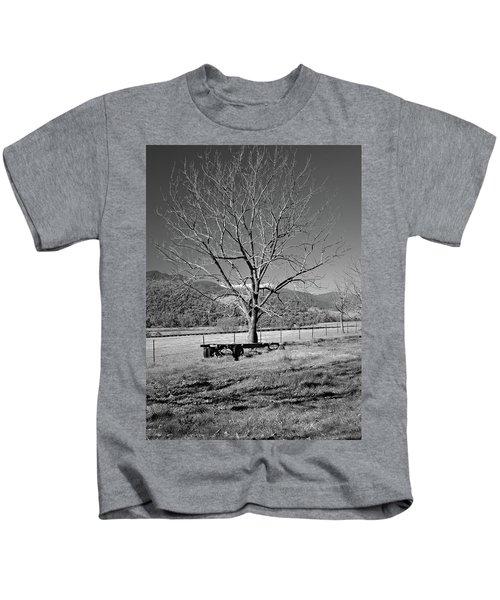 A Wintery Stand Kids T-Shirt