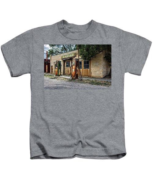 Abandoned Garage Kids T-Shirt