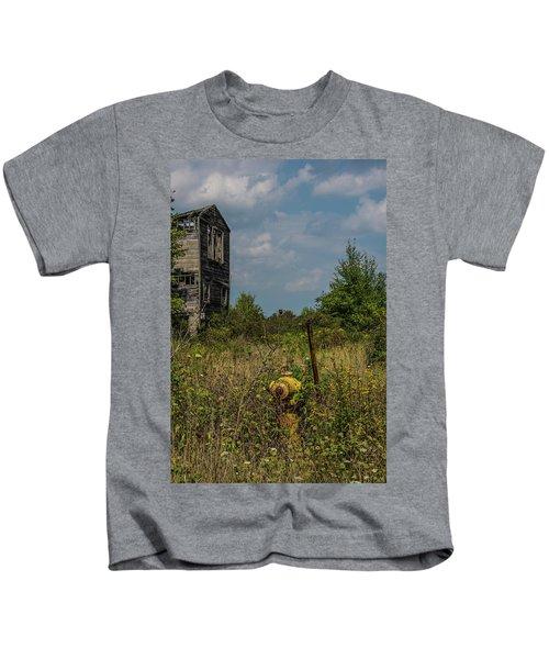 Abandoned Hydrant Kids T-Shirt