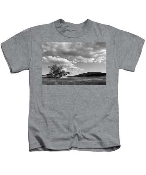 Abandoned In Wyoming Kids T-Shirt