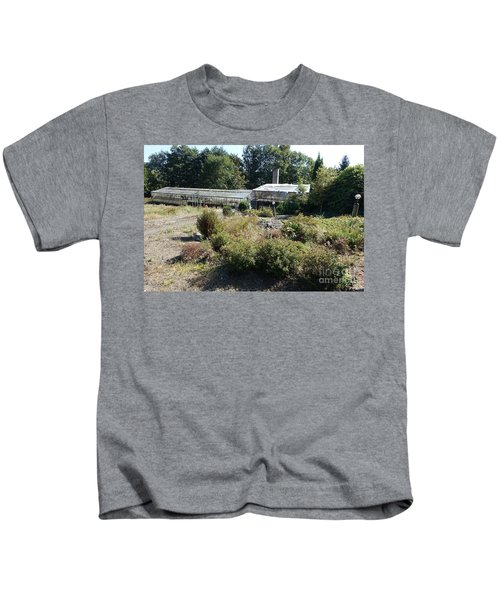 Abanoned Old Horticulture Kids T-Shirt