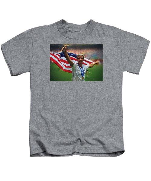 Abby Wambach Us Soccer Kids T-Shirt