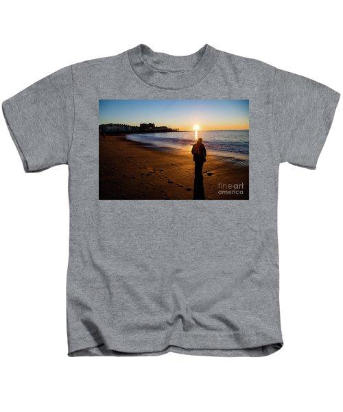 Aberystwyth Sunset Kids T-Shirt