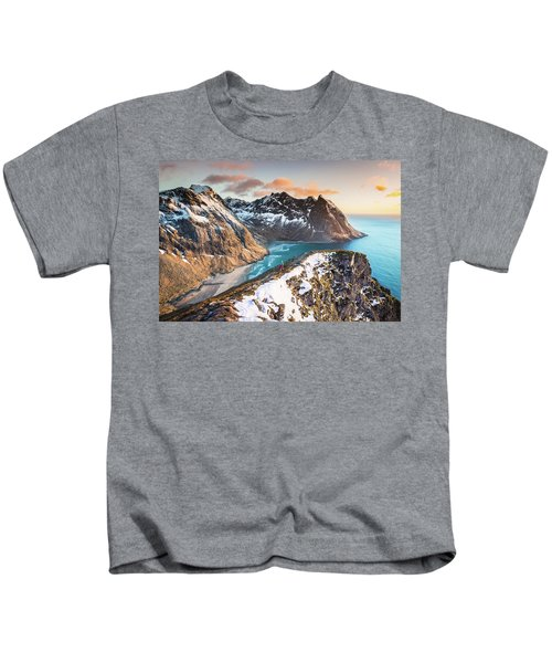 Above The Beach Kids T-Shirt
