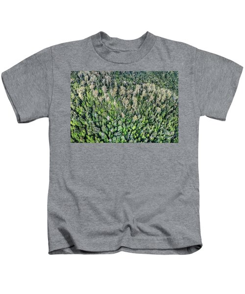 Above The Treetops Kids T-Shirt