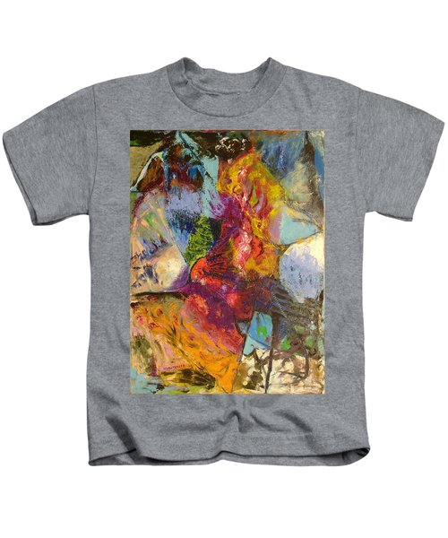 Abstract Depths Kids T-Shirt