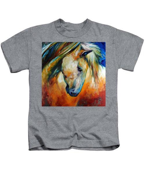 Abstract Equine Eccense Kids T-Shirt