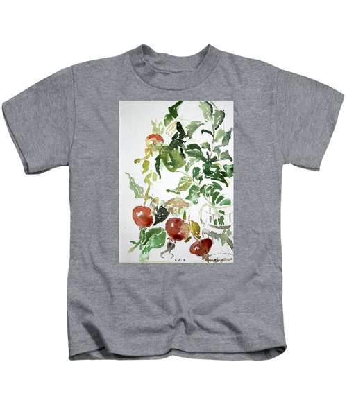 Abstract Vegetables Kids T-Shirt