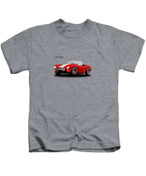 Ac Cobra Mk2 1963 Kids T-Shirt by Mark Rogan