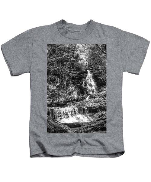 Adams Falls - 8867 Kids T-Shirt