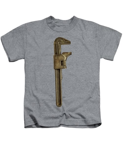Adjustable Wrench Backside Kids T-Shirt
