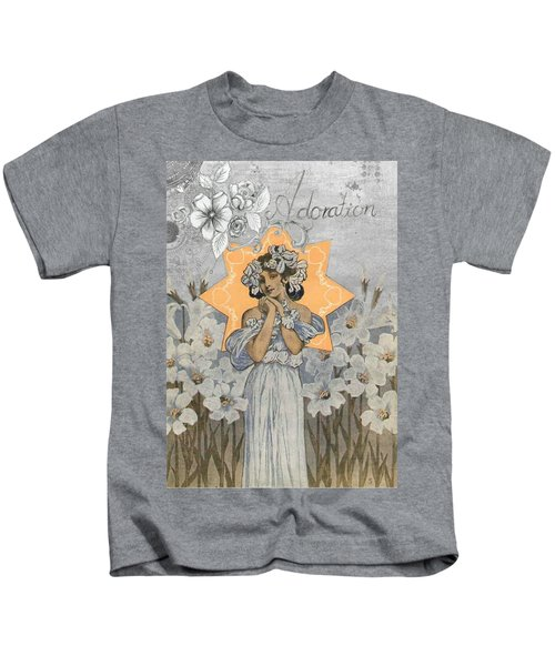 Adoration Art Deco Kids T-Shirt