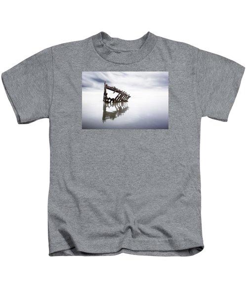 Adrift At Sea Kids T-Shirt