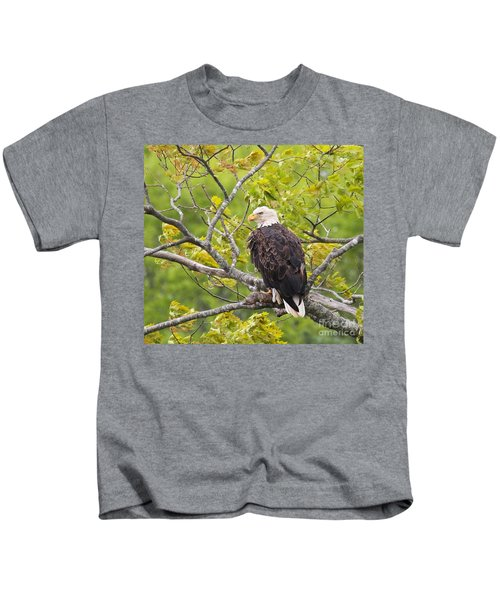 Adult Bald Eagle Kids T-Shirt