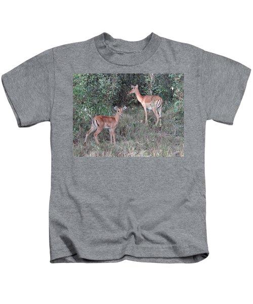 Africa - Animals In The Wild 2 Kids T-Shirt by Exploramum Exploramum