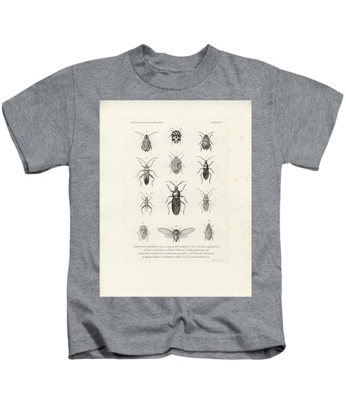 African Bugs And Insects Kids T-Shirt
