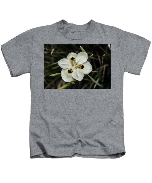 African Iris Kids T-Shirt