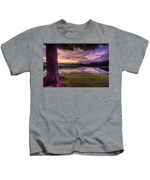 After The Storm At Mapleside Farms Kids T-Shirt
