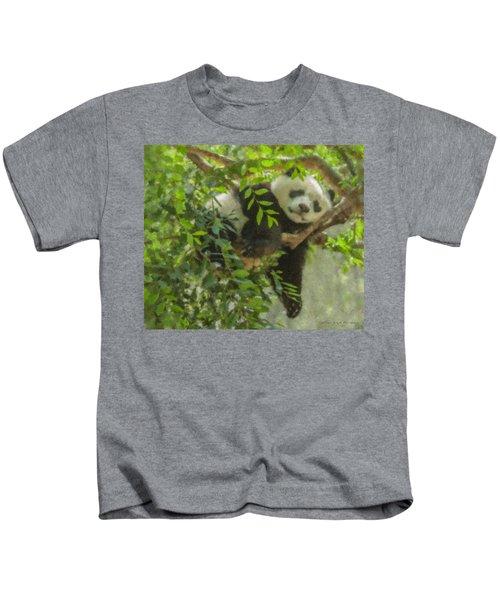 Afternoon Nap Baby Panda Kids T-Shirt