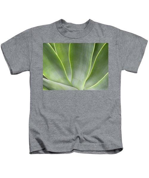 Agave Leaves Kids T-Shirt