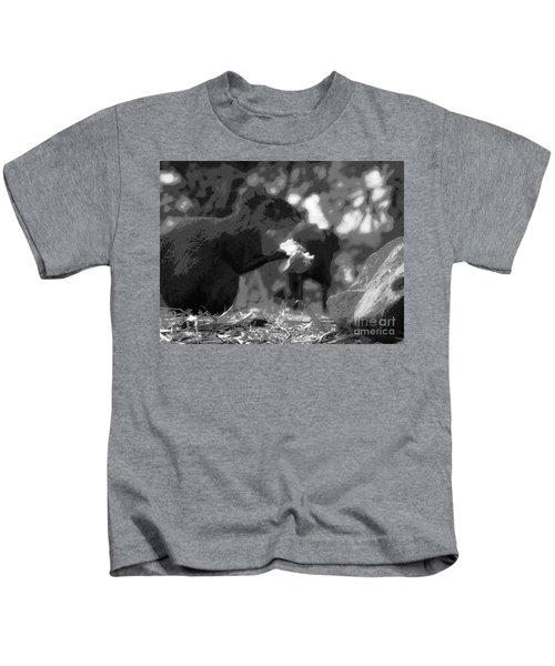 Agouti At Supper Kids T-Shirt