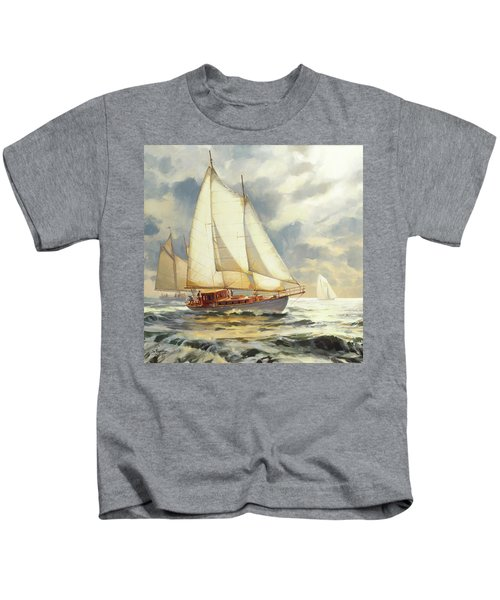 Ahead Of The Storm Kids T-Shirt