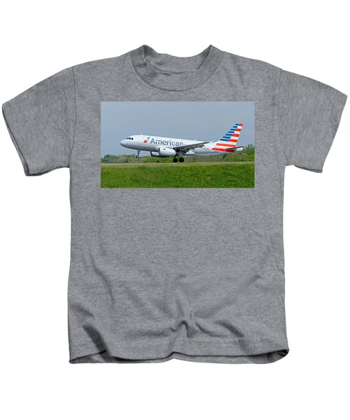 Airbus A319 Kids T-Shirt