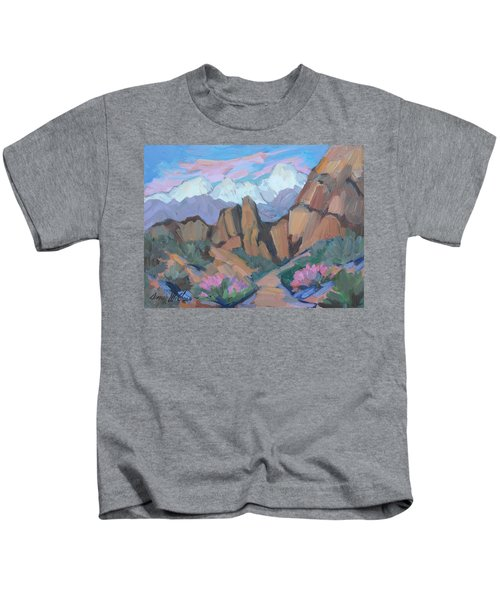 Alabama Hills - Lone Pine Kids T-Shirt