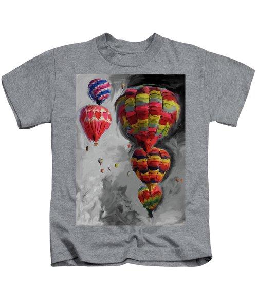 Albuquerque International Balloon Fiesta 4 255 4 Kids T-Shirt