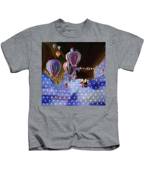 Albuquerque International Balloon Fiesta 5 256 1 Kids T-Shirt