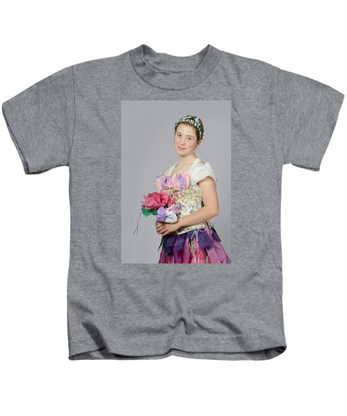 Alegra In Paper Floral Dress Kids T-Shirt