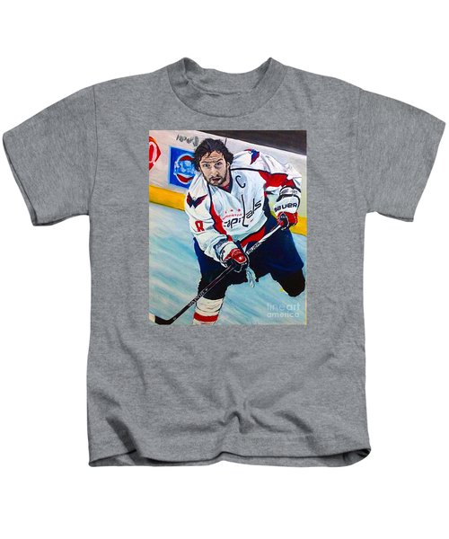 save off a0431 36e7f Alex Ovechkin Kids T-Shirts | Fine Art America
