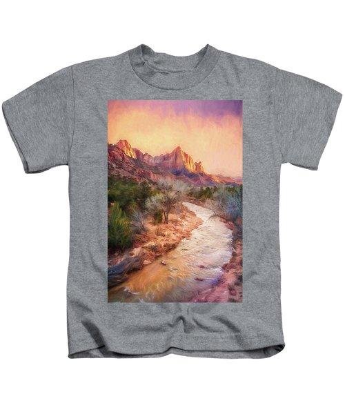 All Along The Watchtower Kids T-Shirt