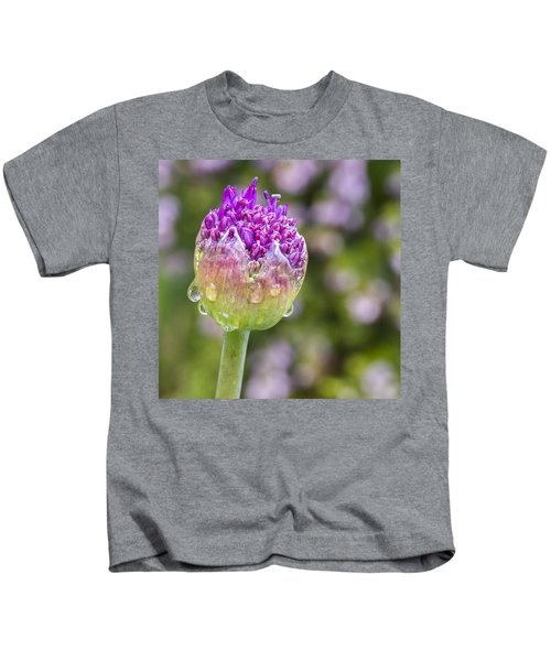 Allium Bud  Kids T-Shirt