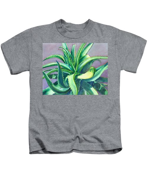 Aloe Vera Watercolor Kids T-Shirt