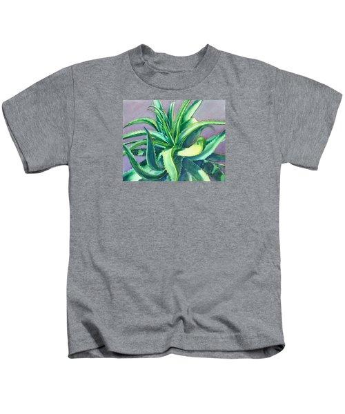 Aloe Vera Watercolor Kids T-Shirt