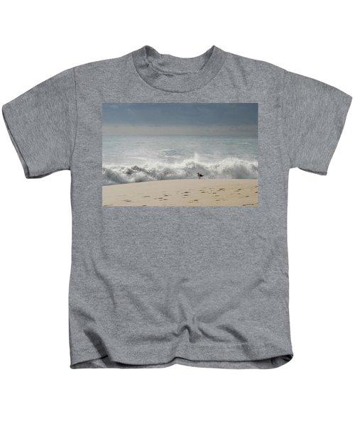 Alone - Jersey Shore Kids T-Shirt
