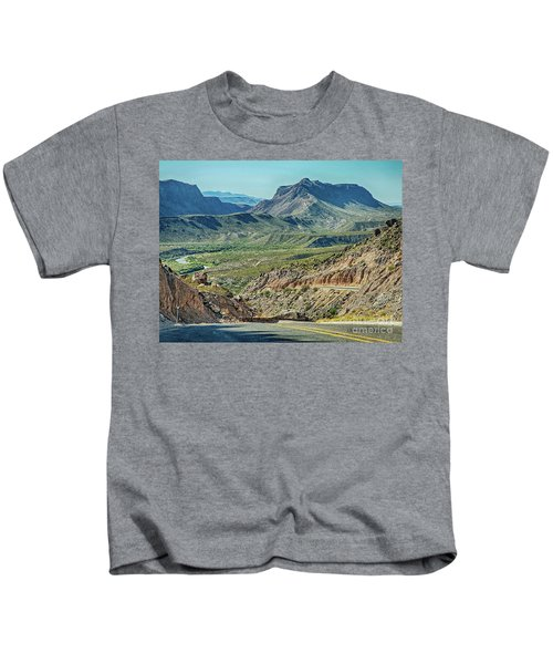 Along The Border Kids T-Shirt