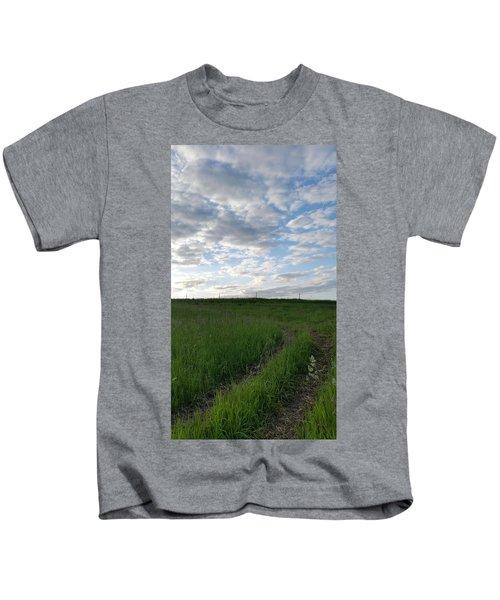 Along The Mormon Trail Variant Kids T-Shirt