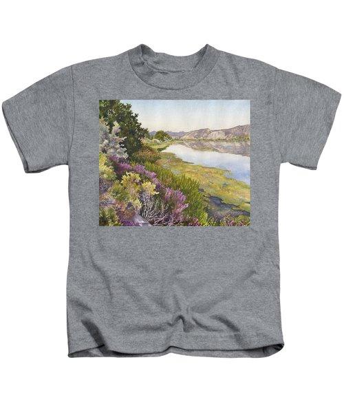 Along The Oregon Trail Kids T-Shirt