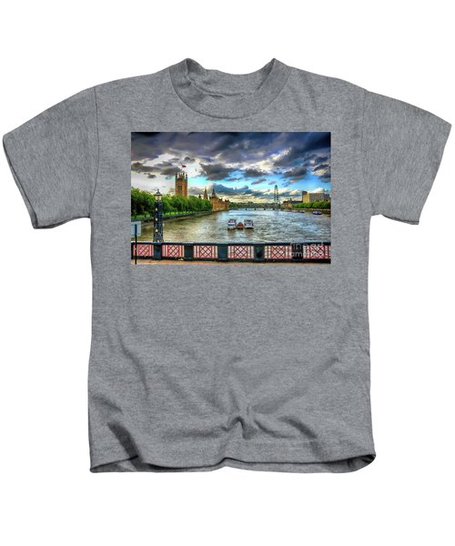 Along The Thames Kids T-Shirt