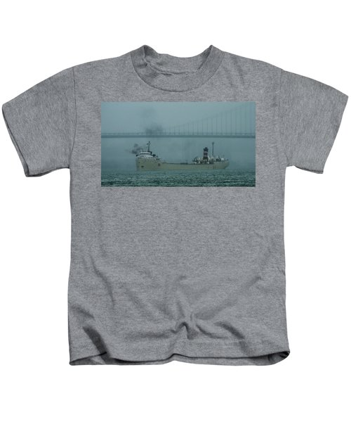 Alpena In The Fog Kids T-Shirt