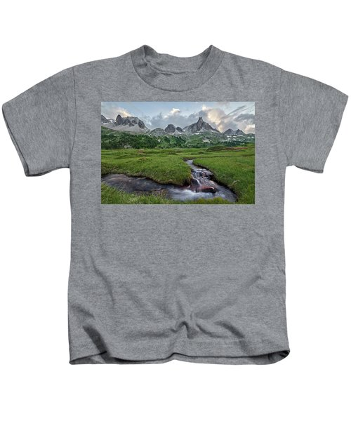 Alps In The Afternoon Kids T-Shirt